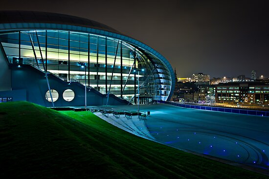 The Sage - Gateshead by David Lewins
