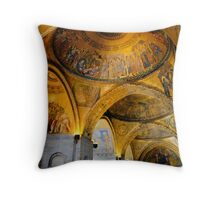 Byzantine Beauty Throw Pillow