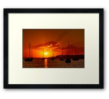 """Corio Dawn"" Framed Print"