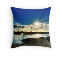 Radiant Link Throw Pillow