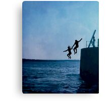 If You Think Adventure is Dangerous... Canvas Print