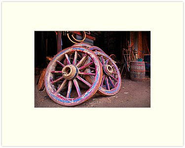 Cart Wheels - Sovereignhill by Hans Kawitzki