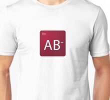 Blood Type - AB negative Unisex T-Shirt