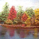 Lake Winnipesaukee by Hilary Robinson