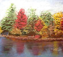 Lake Winnipesaukee by Hilary Robinson