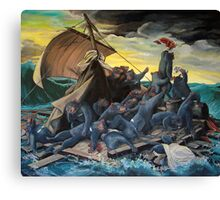 Raft of the Marsupial Canvas Print