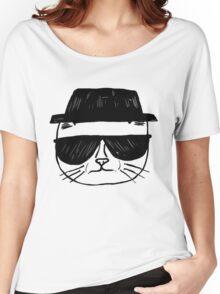 Heisenberg Cat Women's Relaxed Fit T-Shirt