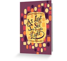 Tangled - At Last I See the Light Greeting Card
