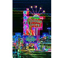 Las Vegas Motel - City Mosaics Series Photographic Print