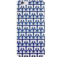 Cool Watercolor Painted Nautical Anchors iPhone Case/Skin