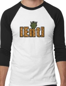 r/trees Ent Pineapple Logo Men's Baseball ¾ T-Shirt