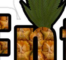r/trees Ent Pineapple Logo Sticker