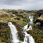 Clear falls by Ólafur Már Sigurðsson