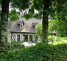 Tudor Style House - France by Marilyn Harris