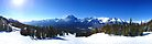 Lake Louise Mid Mountain Panorama by petegrev