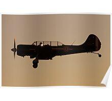 Yak 52  last light Poster