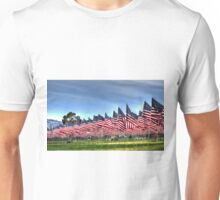 911 Flag Memorial: USA Unisex T-Shirt