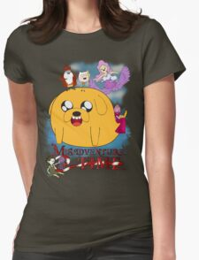 Misadventure Time  Womens Fitted T-Shirt