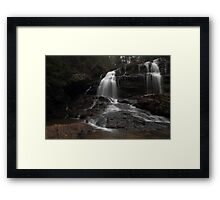 Long Creek Waterfall Framed Print