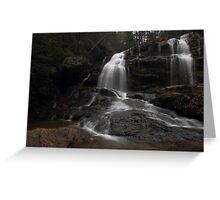 Long Creek Waterfall Greeting Card