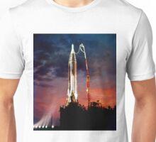 Sunset Launch Unisex T-Shirt