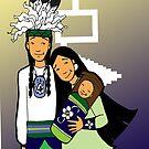 Mohawk family by mylittlenative
