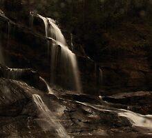 First Light at Long Creek Falls by DHParsons