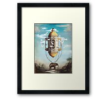 Imaginary Traveler Framed Print