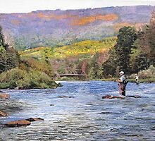 Schoharie Creek by Kenneth Young