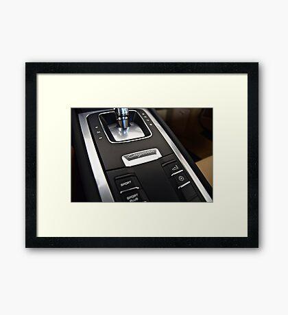 Center Console Framed Print