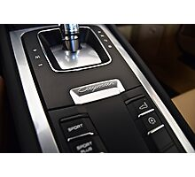 Center Console Photographic Print
