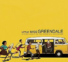 Little Miss Greendale  by boostedartwork