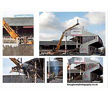 Demolition Photographic Print