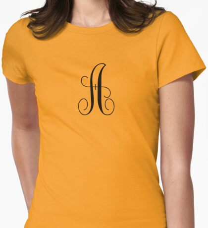 A4 Womens Fitted T-Shirt