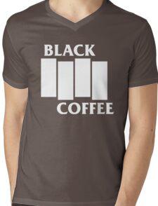 Black Flag Coffee  Mens V-Neck T-Shirt
