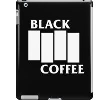Black Flag Coffee  iPad Case/Skin