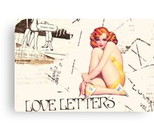 love letters, 2011 Canvas Print