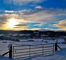 Scottish Sunset by bwatt
