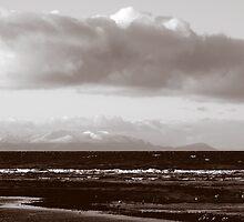 Across To Arran From Ayrshire Scotland by Stuart Kirby