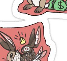 Business Bun Sticker