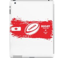Canada Rugby World Cup Supporters iPad Case/Skin