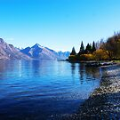 Lake Wakatipu - Queenstown, New Zealand by Gary Lowe