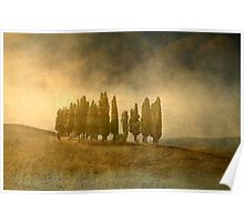 Stormy Tuscany Poster