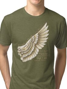 Side of the Angels Tri-blend T-Shirt