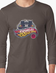 Hot Wheels to the Future Long Sleeve T-Shirt