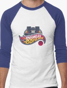 Hot Wheels to the Future Men's Baseball ¾ T-Shirt