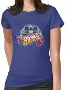 Hot Wheels to the Future Womens Fitted T-Shirt