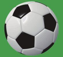 Soccer Kid- Football Team T-Shirt Sticker Duvet Kids Tee
