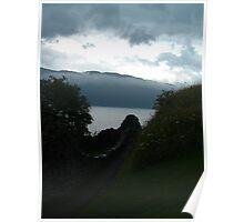 Low Cloud Loch Poster