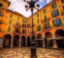 Spanish Street Lamp by Luke Griffin